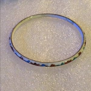 Cloisonné bangle size large